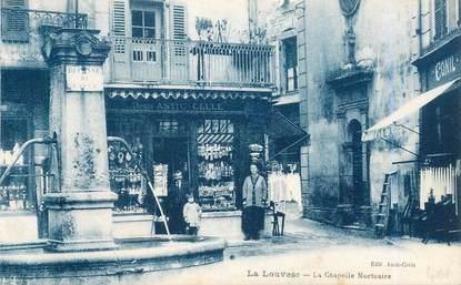 ".CPA  FRANCE 07 ""La Louvesc, La chapelle mortuaire"""