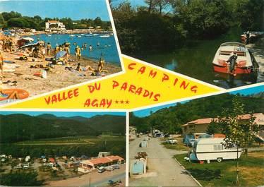 "/ CPSM FRANCE 83 ""Agay, camping de la vallée du paradis"""