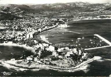 """/ CPSM FRANCE 83 """"Bandol, la plage et le port"""""""