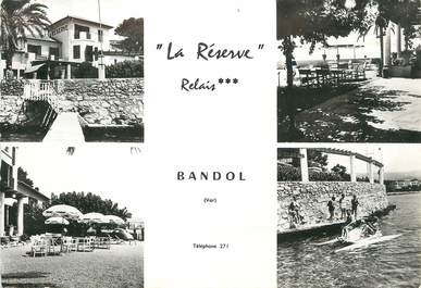 """/ CPSM FRANCE 83 """"Bandol, La réserve, relais"""""""
