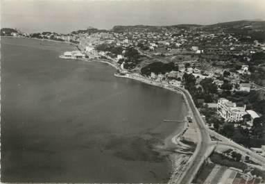 """/ CPSM FRANCE 83 """"Bandol, vue aérienne sur le littoral et la ville"""""""