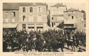"""07 Ardeche .CPA FRANCE 07 """"St Agrève, Place de la République"""""""
