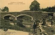 """07 Ardeche .CPA FRANCE 07 """"St Agrève, Le Pont de Mounier"""""""
