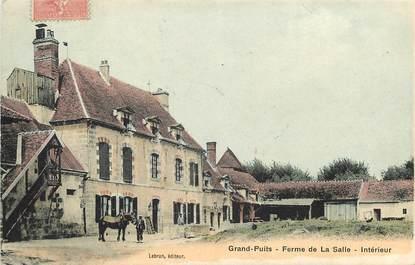 """CPA FRANCE 77 """"Grand Puits, Ferme de La Salle"""""""