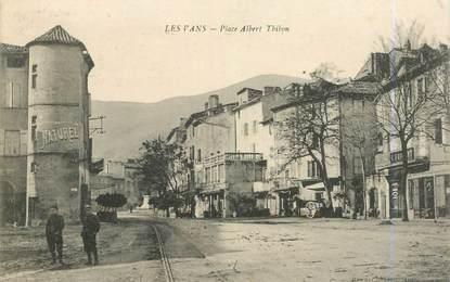 """.CPA FRANCE  07 """"Les Vans, Place Albert Thibon"""""""