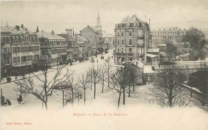 "CPA FRANCE 90 ""Belfort, Place de la Bascule"""