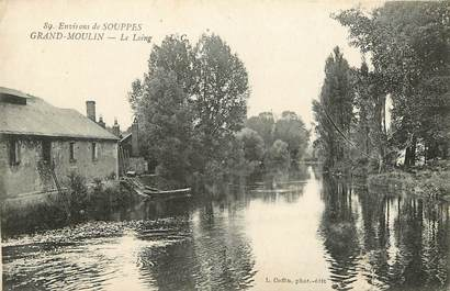 "CPA FRANCE 77 ""Env. de Souppes, Grand Moulin"""