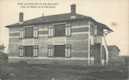 """.CPA   FRANCE 07 """"  La Voulte sur Rhône, Type de maison de la Cité Jardin"""""""