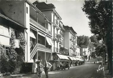 """.CPSM   FRANCE 74 """"Thonon les Bains, Quai de Rives, les Hôtels"""""""