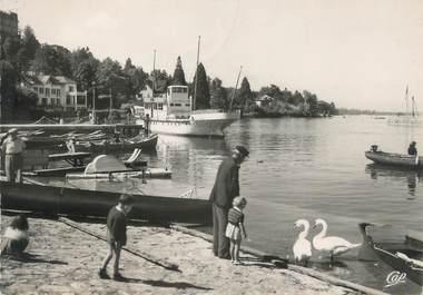""".CPSM   FRANCE 74 """"Thonon les Bains, Le port """""""
