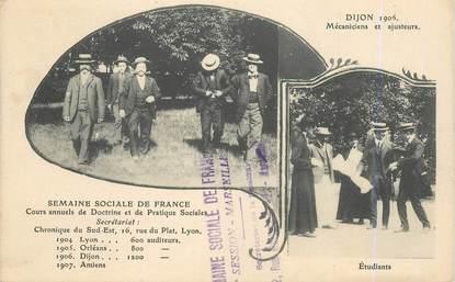"""CPA FRANCE 21 """"Dijon, mécanicien et ajusteur"""""""