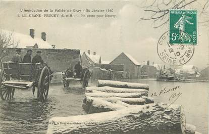 "CPA FRANCE 77 ""Le Grand Peugny"""
