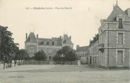 """.CPA FRANCE 36 """"Chabris, Place du Marché"""""""