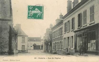 """.CPA FRANCE 36 """"Chabris, Rue de l'Eglise"""""""