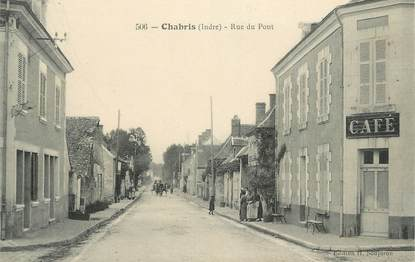 ".CPA FRANCE 36 ""Chabris, Rue du Pont"""