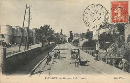 ".CPA FRANCE 36 ""Issoudun, Boulevard du Vernis"""