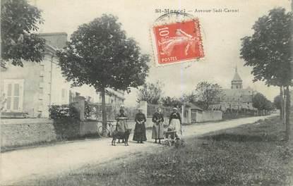 ".CPA FRANCE 36 ""Saint Marcel, Avenue Sadi Carnot"""