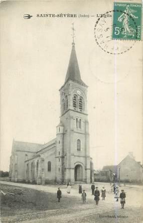 """.CPA FRANCE 36 """"Sainte Sévère, L'église"""""""