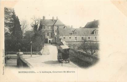 ".CPA FRANCE 37 ""Bourgueil, l'Abbaye Couvent St Martin"""