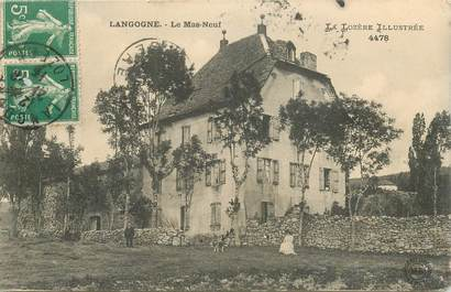 """CPA FRANCE 48 """"Langogne, le Mas neuf"""""""