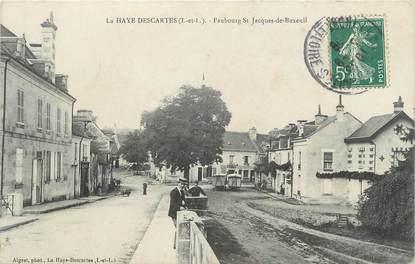 """.CPA FRANCE 37 """"La Haye Descartes, Faubourg St Jacques de Buxeuil"""""""