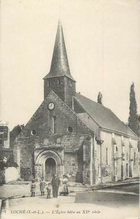 ".CPA FRANCE 37 ""Loches, L'Eglise """
