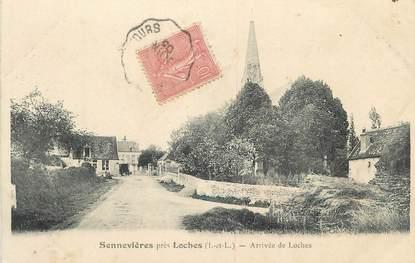 """.CPA FRANCE 37 """"Sennevières, Arrivée de Loches"""""""
