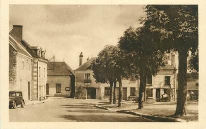 """.CPA FRANCE 37 """"Souvigny de Tourraine, La place"""""""