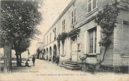 """.CPA FRANCE 37 """" St Nicolas de Bourgueil, La Mairie"""""""
