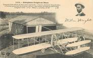 "Aviation CPA AVIATION ""Aéroplane Wright au Mans"""