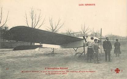 "CPA AVIATION ""L'aéroplane Blériot, 1907"""
