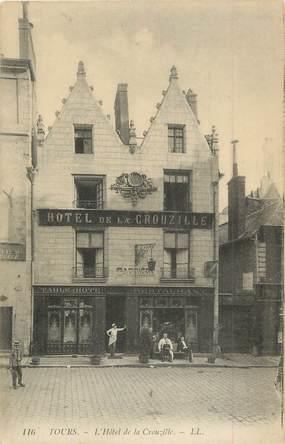 """.CPA  FRANCE 37 """" Tours, Hôtel de la Crouzille"""""""