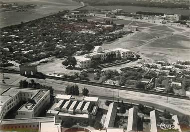 """CPSM MAROC """"Rabat, vue panoramique aérienne sur la direction des Habous et le palais du sultan"""""""