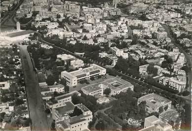 """CPSM MAROC """"Rabat, vue générale aérienne sur l'avenue des Touargas"""""""