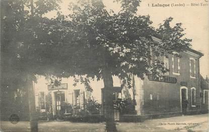 ".CPA  FRANCE 40 ""Laluque, Hôtel Taris"""
