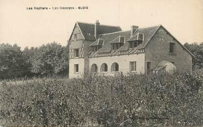 """.CPA  FRANCE 41 """"Blois, Les Grouets, Les rochers"""""""