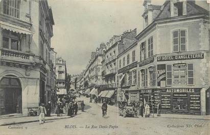 """.CPA FRANCE 41 """" Blois, Rue  Denis Papin"""""""