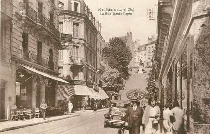 """.CPA FRANCE 41 """" Blois, Rue Denis Papin """""""