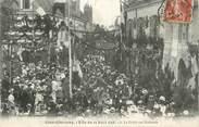 """41 Loir Et Cher .CPA FRANCE 41 """" Cheverny, Fête  du 23 août 1908 Défilé Rue Nationale"""""""
