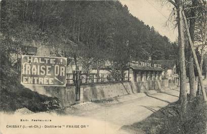 ".CPA FRANCE 41 "" Chissay, Distillerie Fraise Or""/FRAISE"