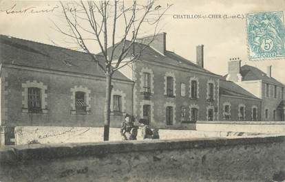 """.CPA FRANCE 41 """" Chatiillon sur Cher"""""""