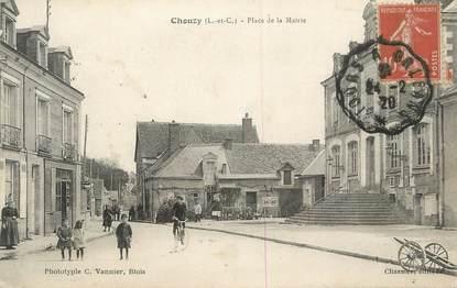 """.CPA FRANCE 41 """" Chouzy, Place de la Mairie"""""""