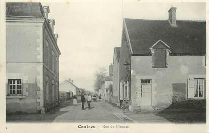 ".CPA FRANCE 41 "" Contres, Rue de Fresnes"""
