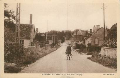 """.CPA FRANCE 41 """"Herbault, Rue de Françay"""""""