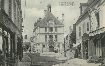 """.CPA FRANCE 41 """"Montrichard, Hôtel de Ville3"""