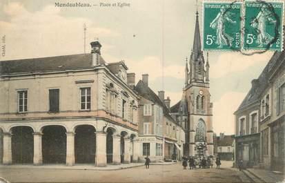 """.CPA FRANCE 41 """"Mondoubleau, Place et église"""""""