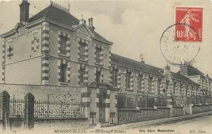 """.CPA FRANCE 41 """"Mondoubleau, Groupe scolaire"""""""