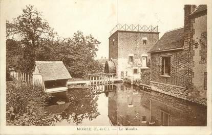 ".CPA FRANCE 41 ""Morée, Le Moulin"""
