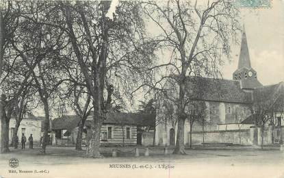 ".CPA FRANCE 41 ""Meusnes, Eglise"""