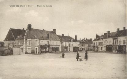 """.CPA FRANCE 41 """"Oucques, Place du marché"""""""